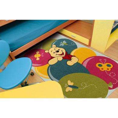 Tappeto Winnie Party , azzurro, 133x190