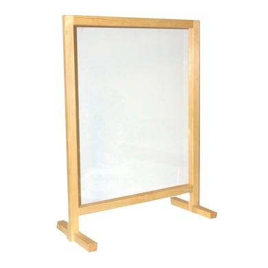 Schermo di protezione plexiglass trasparente 60 cm x 112 cm, Sp 2.5 mm
