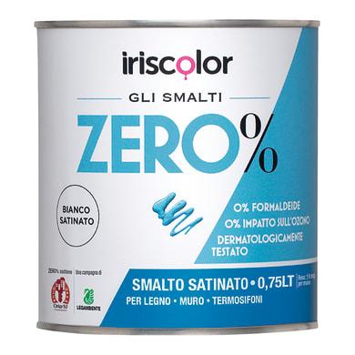 Smalto ZERO% acrilico bianco opaco 0.75 L