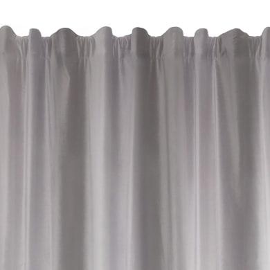 Tenda TENDA PROTECT grigio fettuccia con passanti nascosti 135 x 280 cm
