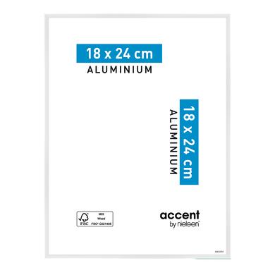 Cornice Accent bianco per foto da 18x24 cm