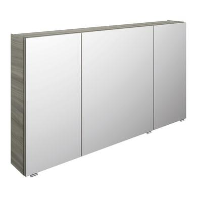 Specchio contenitore L 130 x P 17 x H 70.3 cm