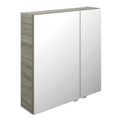 Specchio contenitore L 70 x P 17 x H 70.3 cm