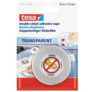 Nastro bi-adesivo TESA 10 m x 12 mm
