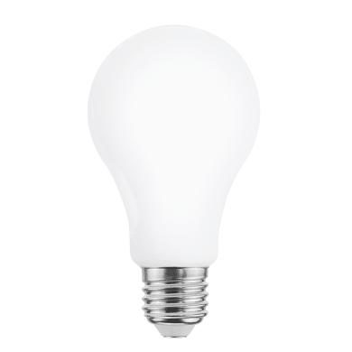 Lampadina LED filamento, E27, Goccia, Opaco, Luce naturale, 16W=2452LM (equiv 150 W), 360° , LEXMAN