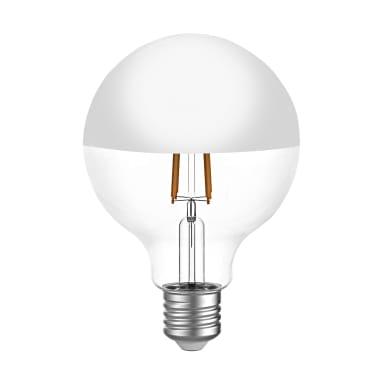 Lampadina LED, E27, Globo, Ramato, Luce calda, 7W=806LM (equiv 60 W), 300° , LEXMAN