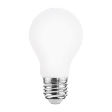 Lampadina LED, E27, Goccia, Opaco, Luce calda, 8W=1055LM (equiv 75 W), 360° , LEXMAN