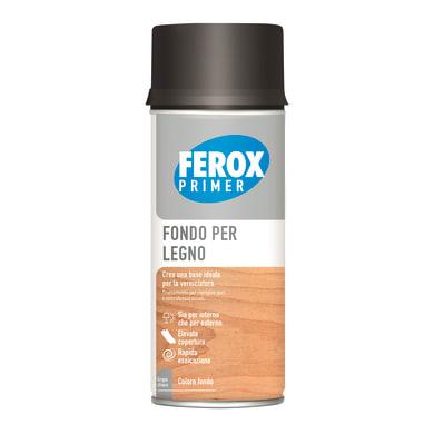 Fondo spray Ferox Fondo legno grigio chiaro 0.4 L