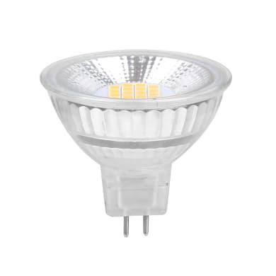 Lampadina LED, GU5.3, Faretto, Opaco, Luce calda, 8W=700LM (equiv 50 W), 100° , LEXMAN