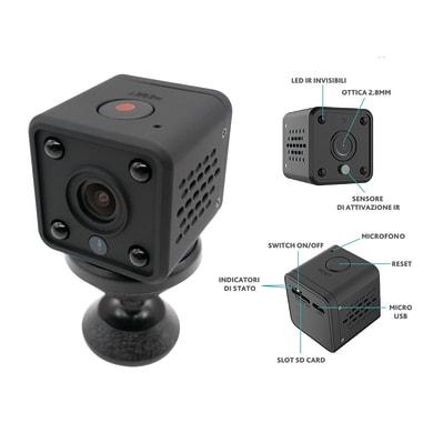 Telecamera di videosorveglianza senza fili ISNATCH