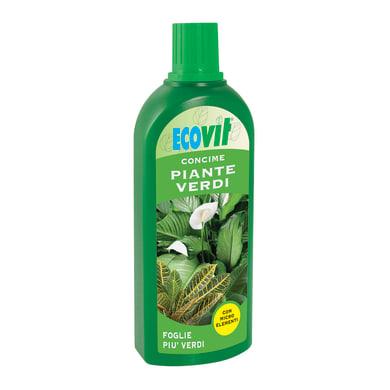 Concime per piante verdi liquido ECOVIT 1 L