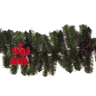 Ghirlanda natalizia multicolore L 220 cm , Ø 25 cm