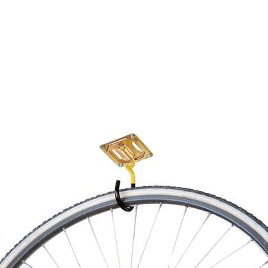 Rastrelliera bici Supporto Portabici L 9 x H 2.5 cm