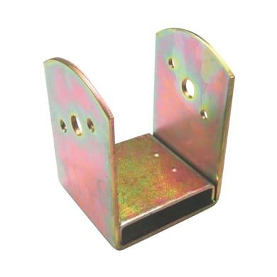 Supporto per palo Staffa in acciaio L 9x H 14