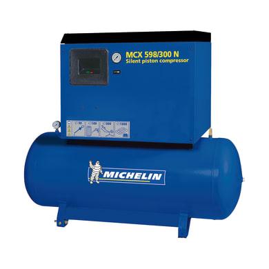 Compressore silenziato MICHELIN MCX 598/300 , 5.5 hp, 10 bar, 270 L