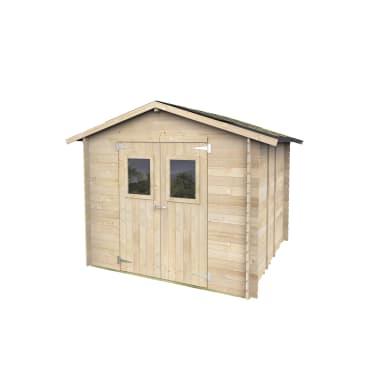 Casetta da giardino in legno Dalia,  superficie interna 5.02 m² e spessore parete 19 mm