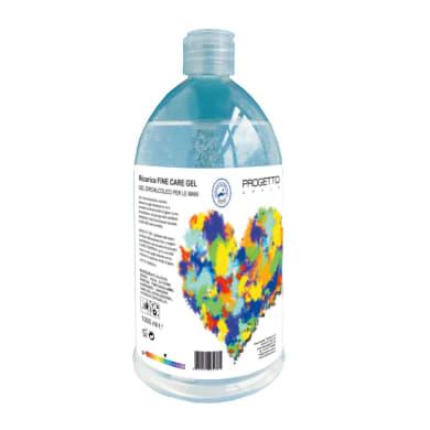 Detergente liquido per mani Gel idroalcolico per le mani 1 L