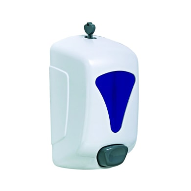 Dispenser sapone Manuale in abs bianco