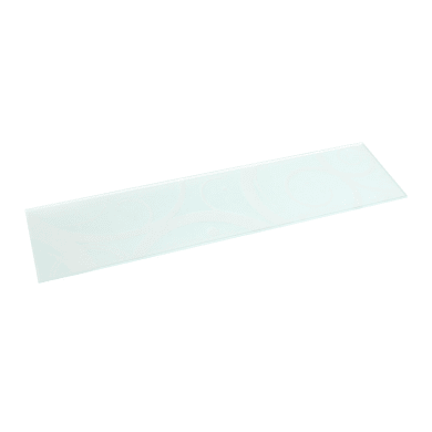 Mensola Spaceo L 90 x P 15 cm, Sp 0.5 cm bianco