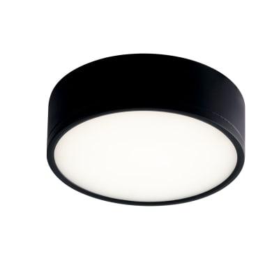 Applique Klio LED integrato nero, in alluminio,