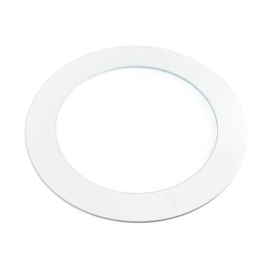 Faretto fisso da incasso tondo Slim in alluminio, bianco, LED integrato 18W 1400LM IP20