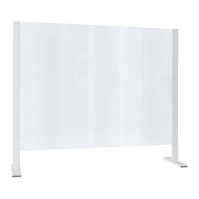 Schermo di protezione polistirene trasparente 100 cm x 85 cm, Sp 3 mm