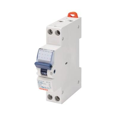 Interruttore magnetotermico GEWISS GW90026 1P +N 10A C 1 modulo 230V