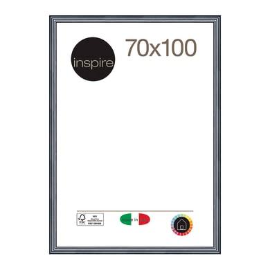 Cornice INSPIRE Musa nero<multisep/>bianco per foto da 70x100 cm