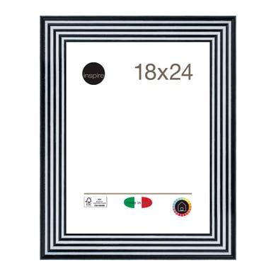 Cornice INSPIRE Musa nero<multisep/>bianco per foto da 18x24 cm
