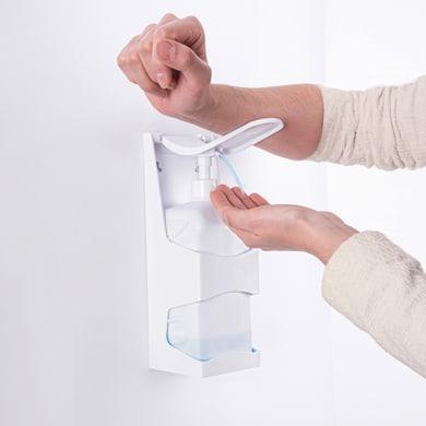 Dispenser sapone Dispenser disinfettante palizzi bco l.1 bianco
