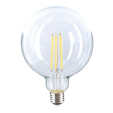 Lampadina LED filamento, E27, Globo, Trasparente, Luce naturale, 10W=1540LM (equiv 10 W), 360°