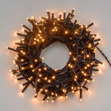 Catena luminosa 750 lampadine Miniled 400 cm