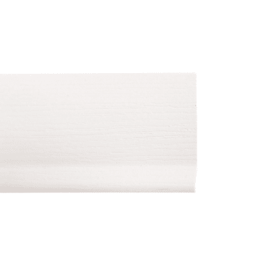 Battiscopa H 7 cm x L 2 m bianco