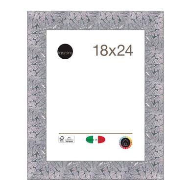 Cornice INSPIRE Mosaico argento per foto da 18x24 cm