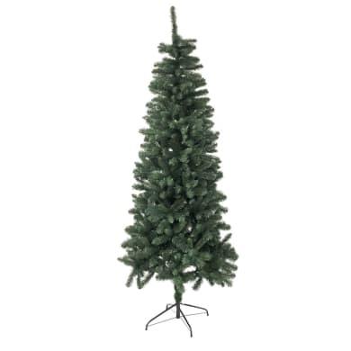 Albero di natale artificiale verde H 180 cm,