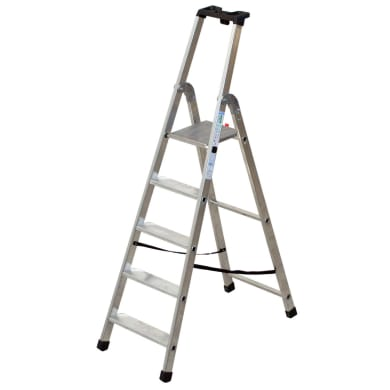 Scala FACAL in alluminio 5 gradini per lavori fino a 2.92 m