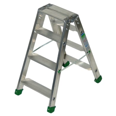 Scala doppia FACAL in alluminio 3+3 gradini per lavori fino a 2.07 m