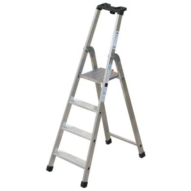 Scala doppia FACAL in alluminio 4 gradini per lavori fino a 2.685 m