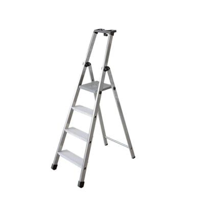 Scala doppia FACAL in alluminio 4 gradini per lavori fino a 2.78 m