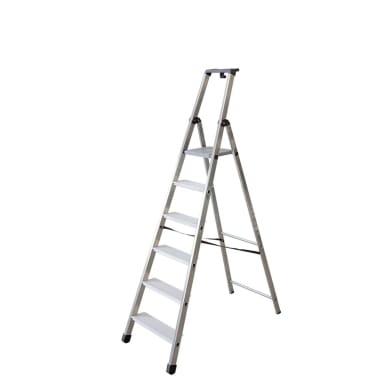 Scala FACAL in alluminio 6 gradini per lavori fino a 3.26 m