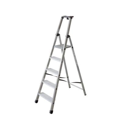 Scala FACAL in alluminio 5 gradini per lavori fino a 3.02 m
