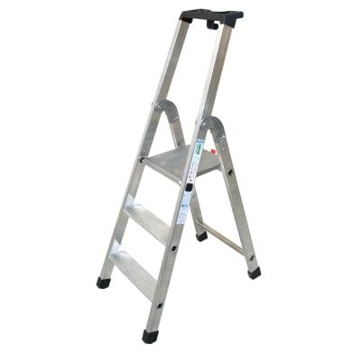 Scala FACAL in alluminio 3 gradini per lavori fino a 2.45 m