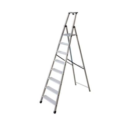 Scala FACAL in alluminio 8 gradini per lavori fino a 3.72 m