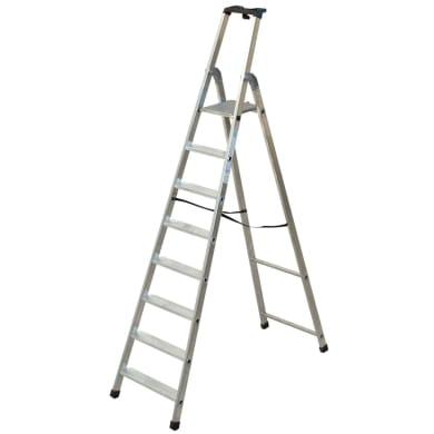 Scala FACAL in alluminio 8 gradini per lavori fino a 3.625 m