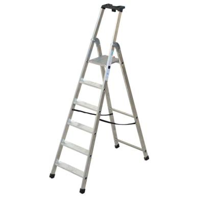 Scala FACAL in alluminio 6 gradini per lavori fino a 3.16 m