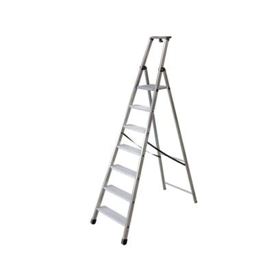 Scala FACAL in alluminio 7 gradini per lavori fino a 3.49 m