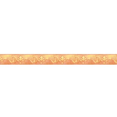 Fregio Giglio giallo / dorato 9.6 cm x 5 m