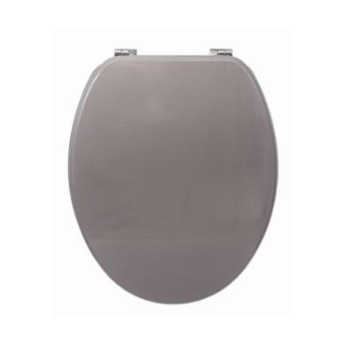 Copriwater ovale Universale Cashmere mdf bianco