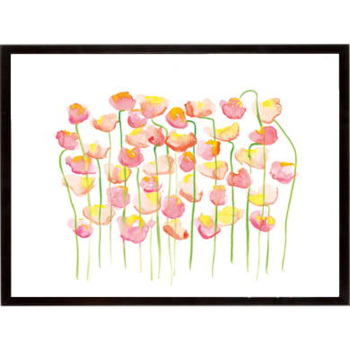 Stampa incorniciata A Forest of Flowers  32x42 cm