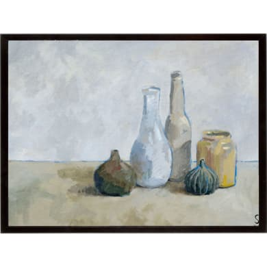 Stampa incorniciata A Collection of Bottles  32x42 cm